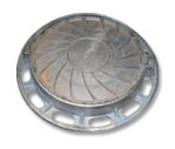 Люк чугунный канализационный типа «Т» (С-250) 1-60 ГОСТ 3634-99